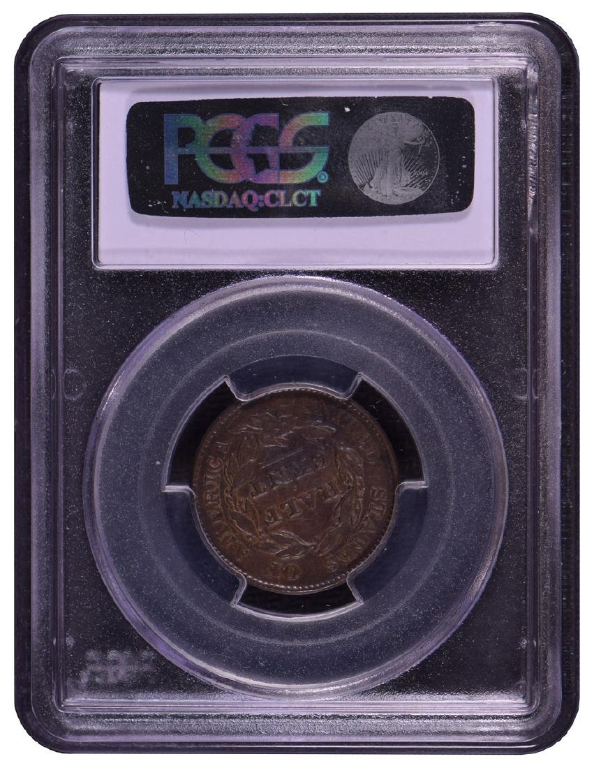 1828 Capped Bust Half Cent PCGS XF45 13 Stars - 2
