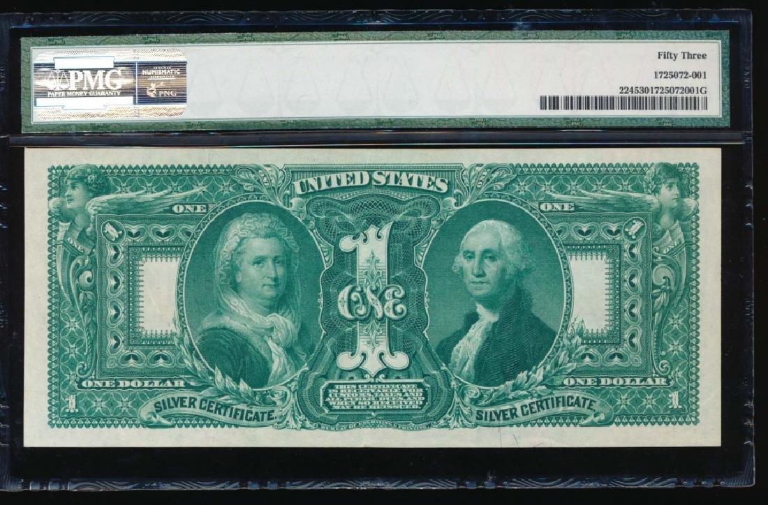 1896 $1 Silver Certificate PMG 53 - 2