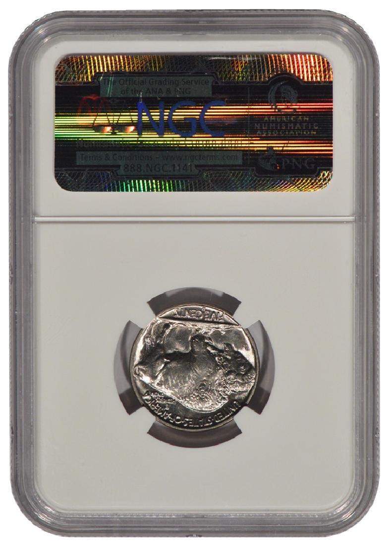 1937-D Buffalo Nickel Coin NGC MS66 - 2