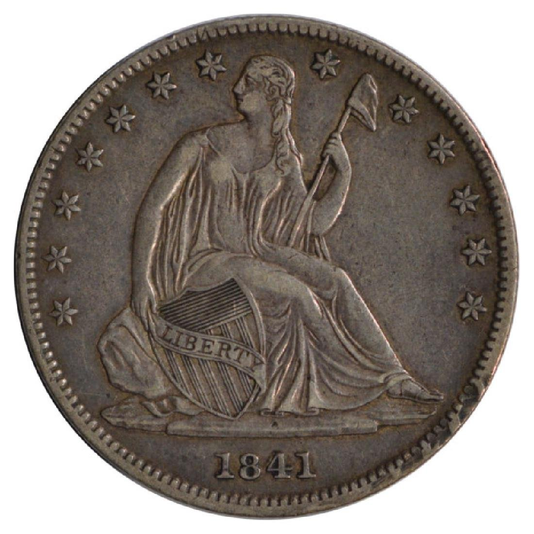 1841-O Seated Liberty Half Dollar Coin