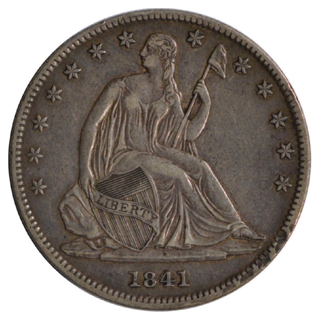 1841-O Seated Liberty Half Dollar Coin