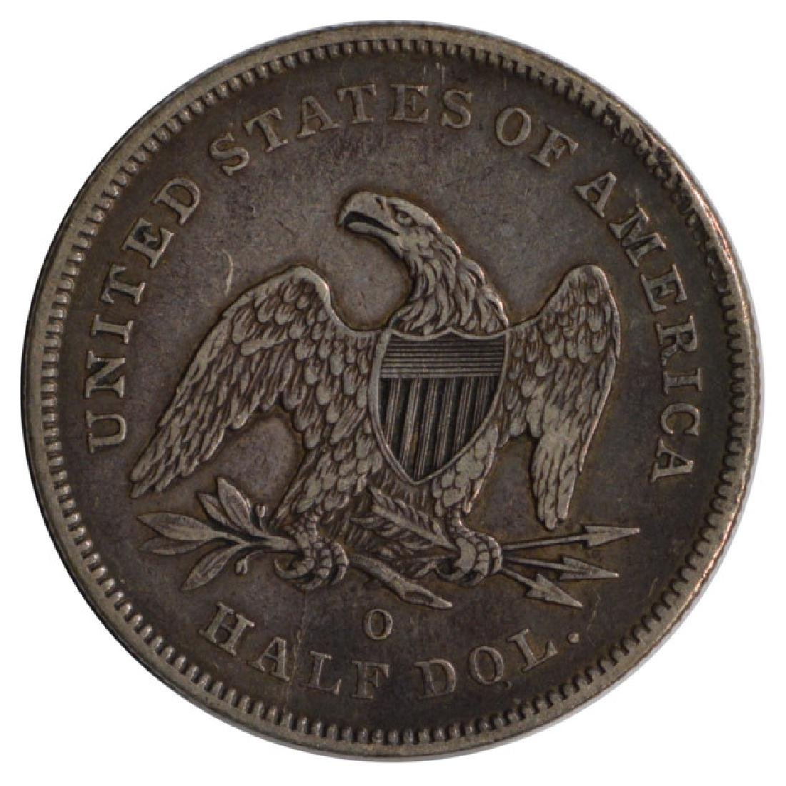 1841-O Seated Liberty Half Dollar Coin - 2
