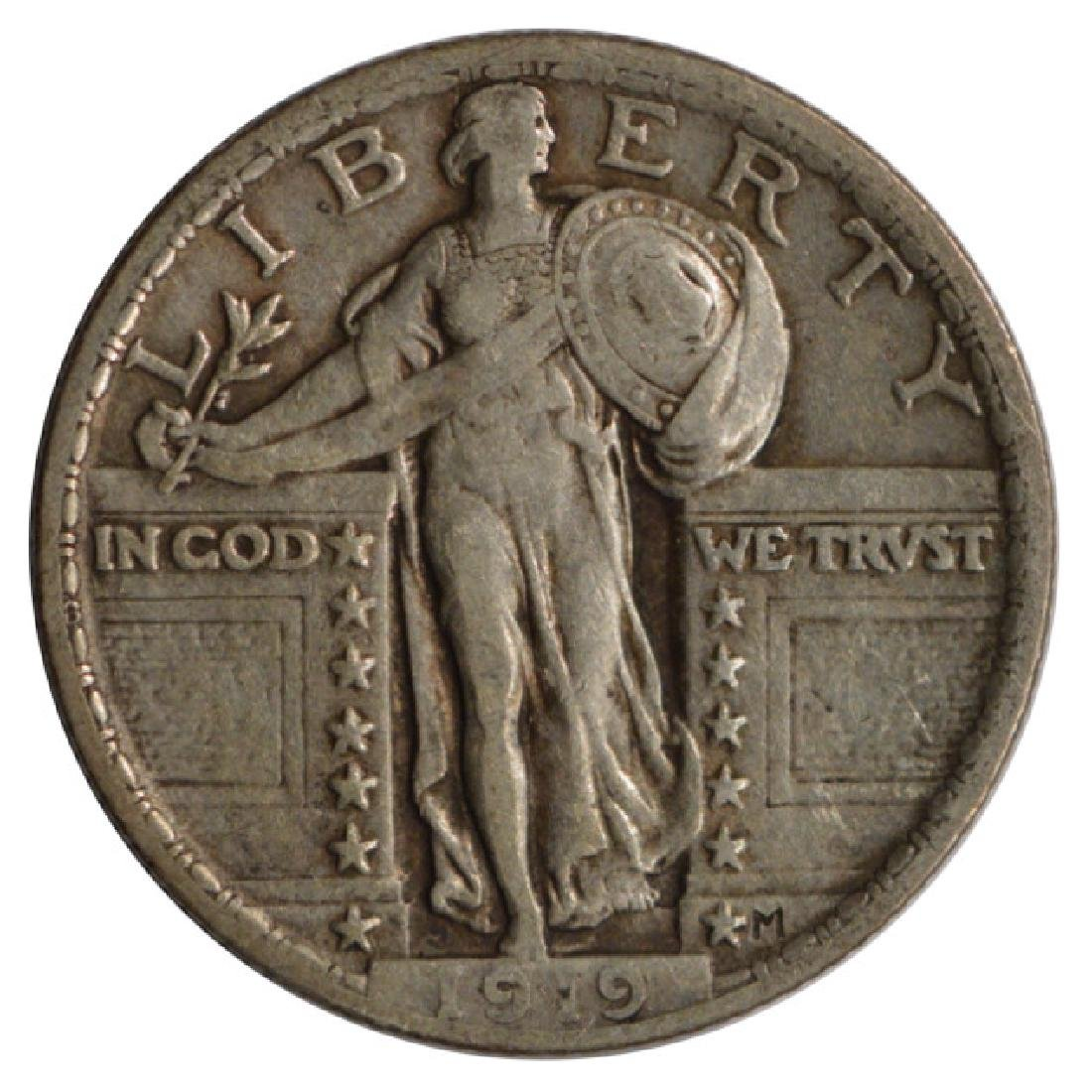 1919 Standing Liberty Quarter Coin