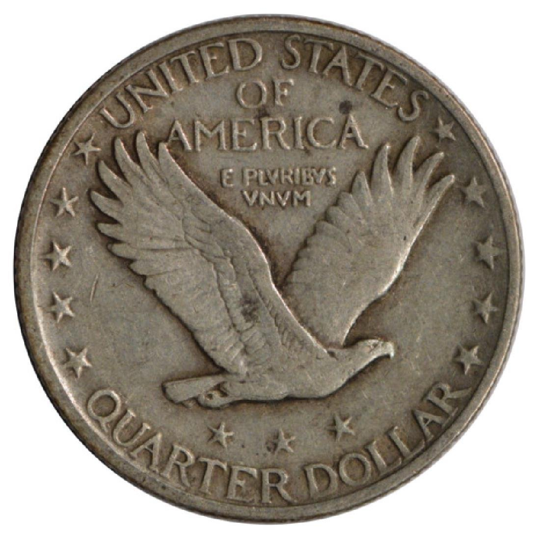 1919 Standing Liberty Quarter Coin - 2