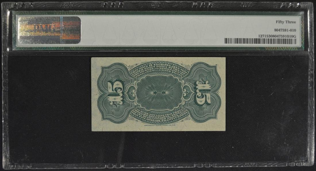 15 Cent Fourth Issue Fraction Note PMG 53 - 2