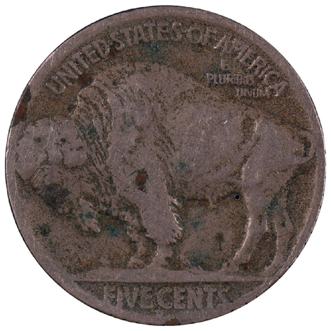 1919 Hobo Design Carved Buffalo Nickel - 2