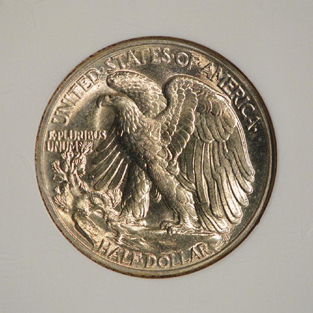 1941 Walking Liberty Half Dollar Coin NGC MS65 - 4
