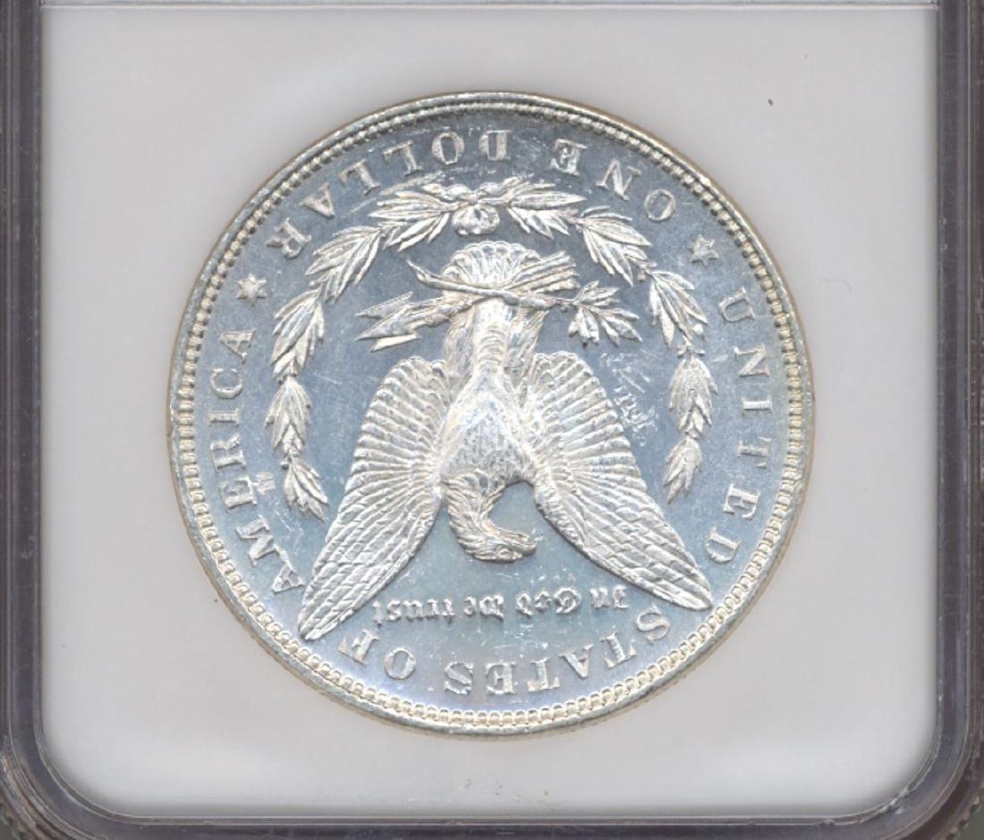 1883 $1 Morgan Silver Dollar Coin NGC MS64DPL - 2