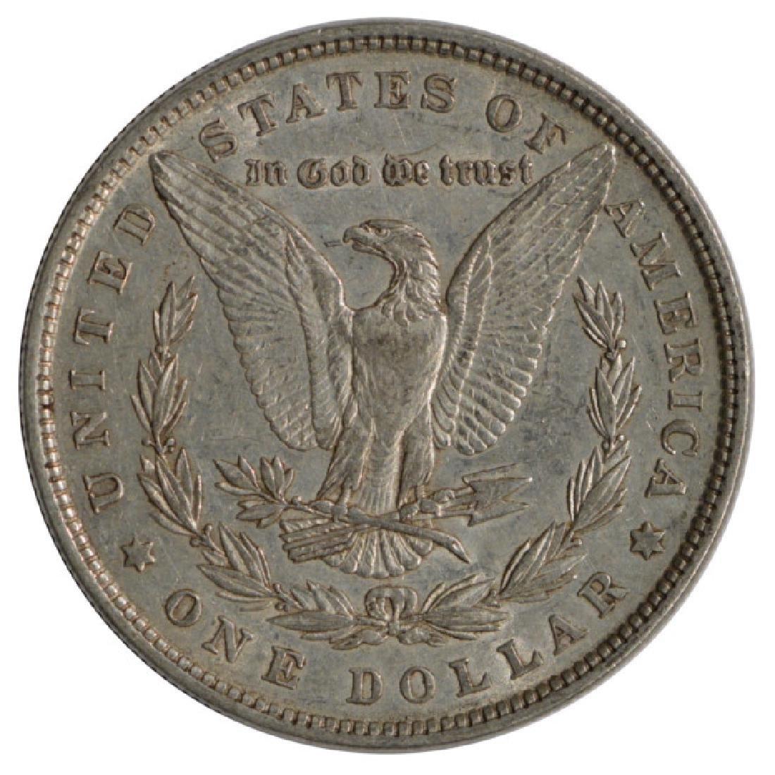 1879 $1 Morgan Silver Dollar Coin - 2