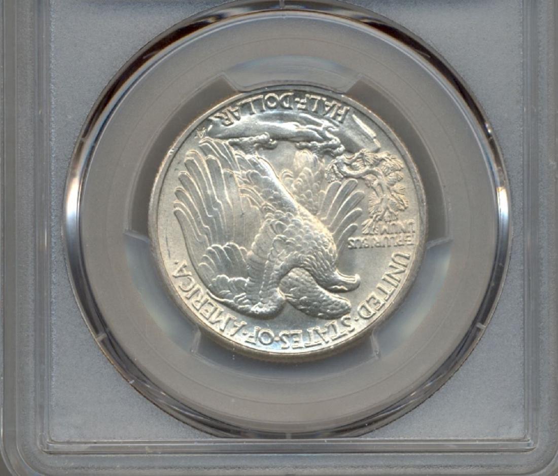 1944 Walking Liberty Half Dollar Coin PCGS MS65 - 2
