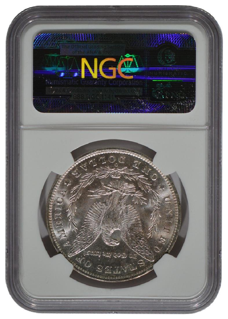 1885-O $1 Morgan Silver Dollar Coin NGC MS64 - 2