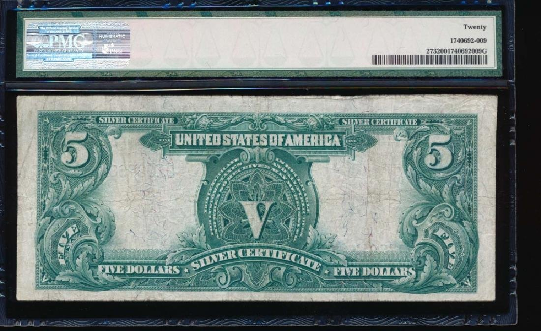 1899 $5 Chief Silver Certificate PMG 20 - 2