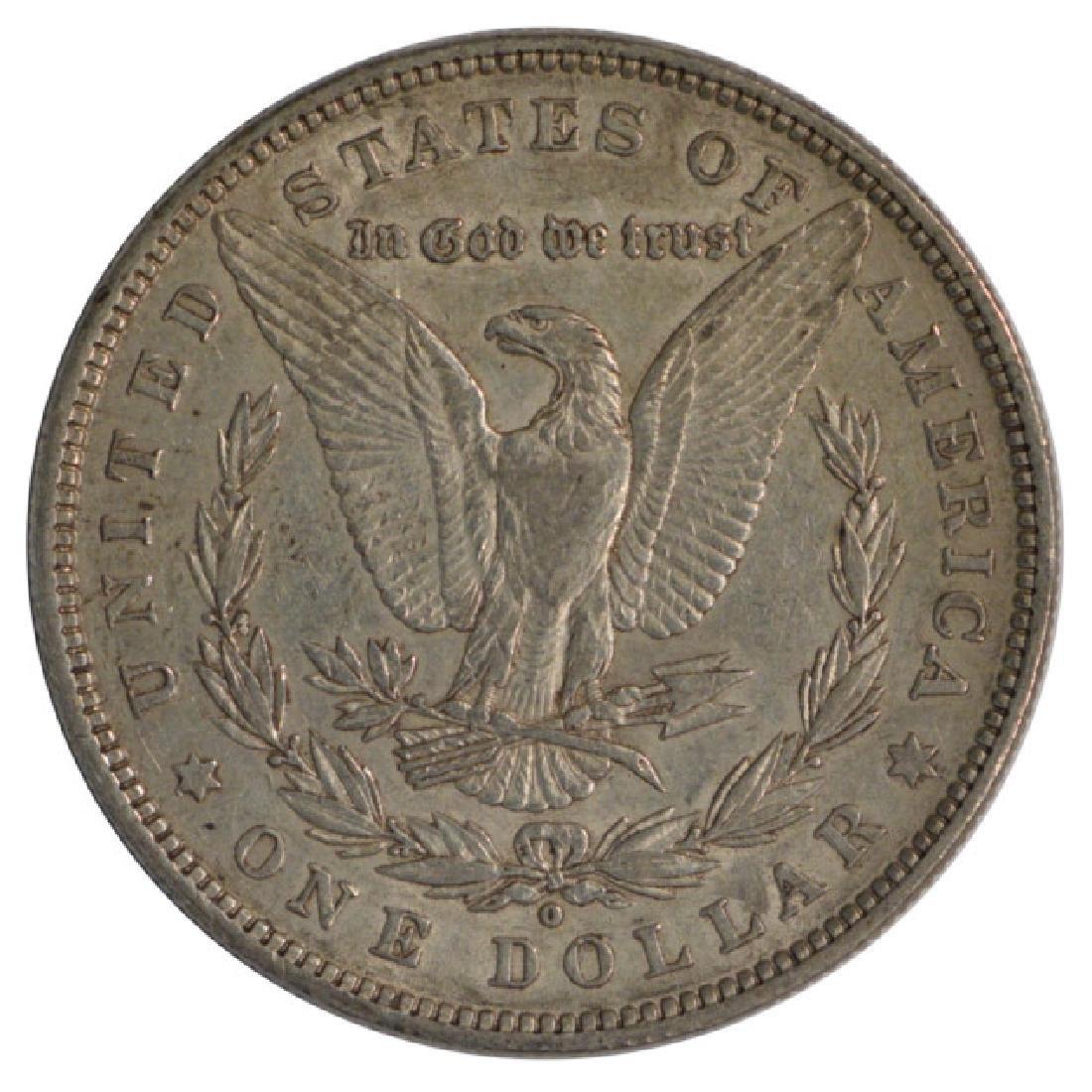 1880-O $1 Morgan Silver Dollar Coin - 2