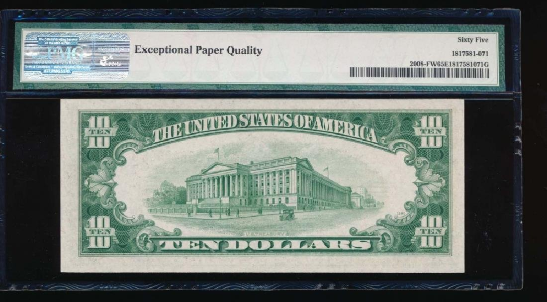 1934C $10 Atlanta Federal Reserve Note PMG 65EPQ - 2