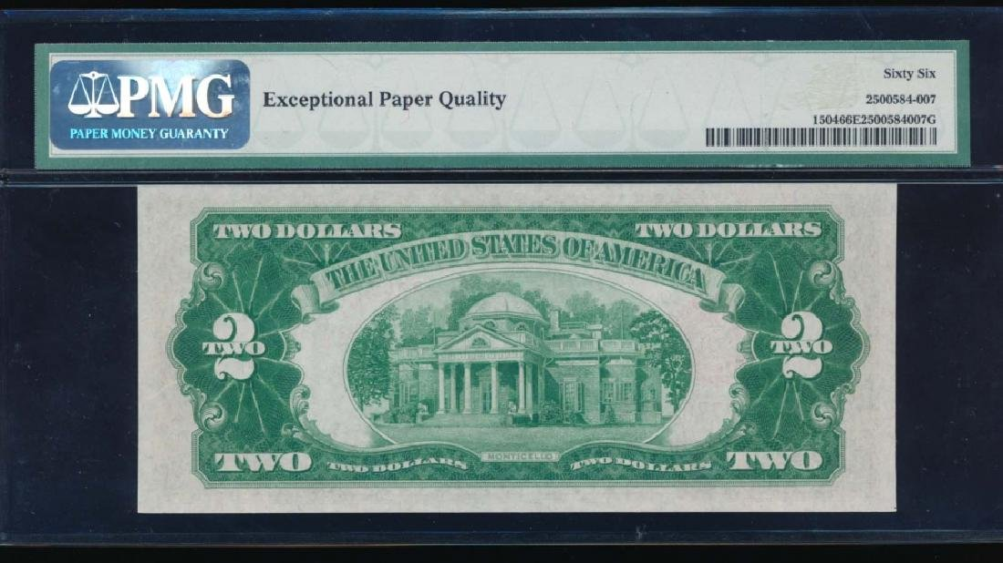 1928C $2 Legal Tender Note PMG 66EPQ - 2