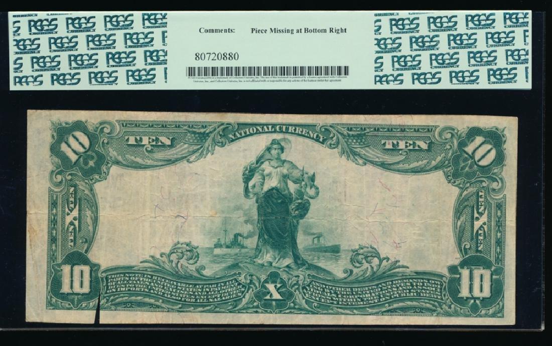 1902 $10 Port Washington National Bank Note PCGS 25 - 2