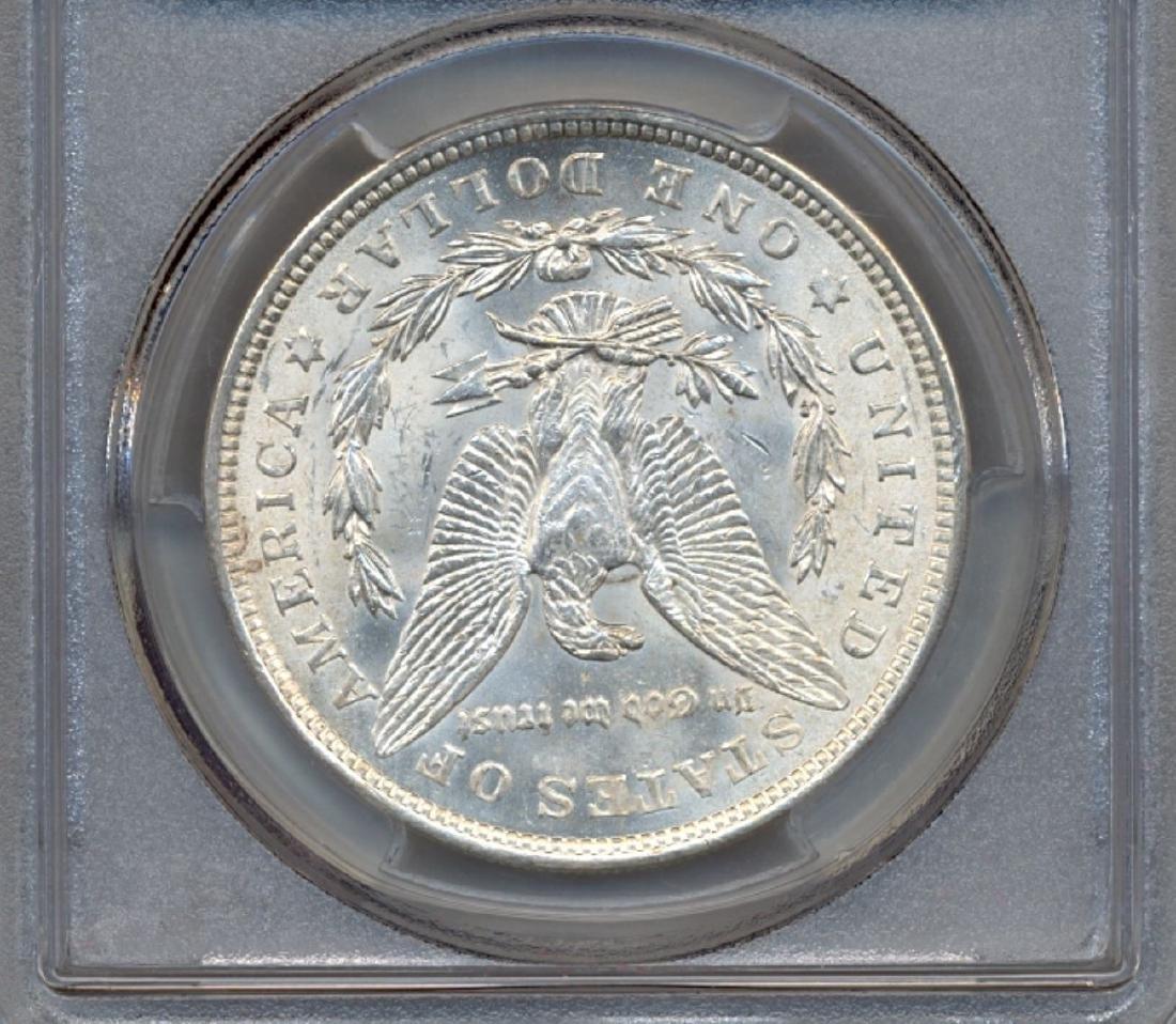 1921 $1 Morgan Silver Dollar Coin PCGS MS65+ - 2
