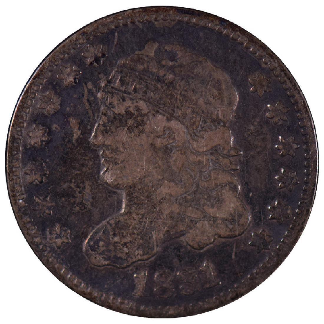 1831 Liberty Half Dime Coin