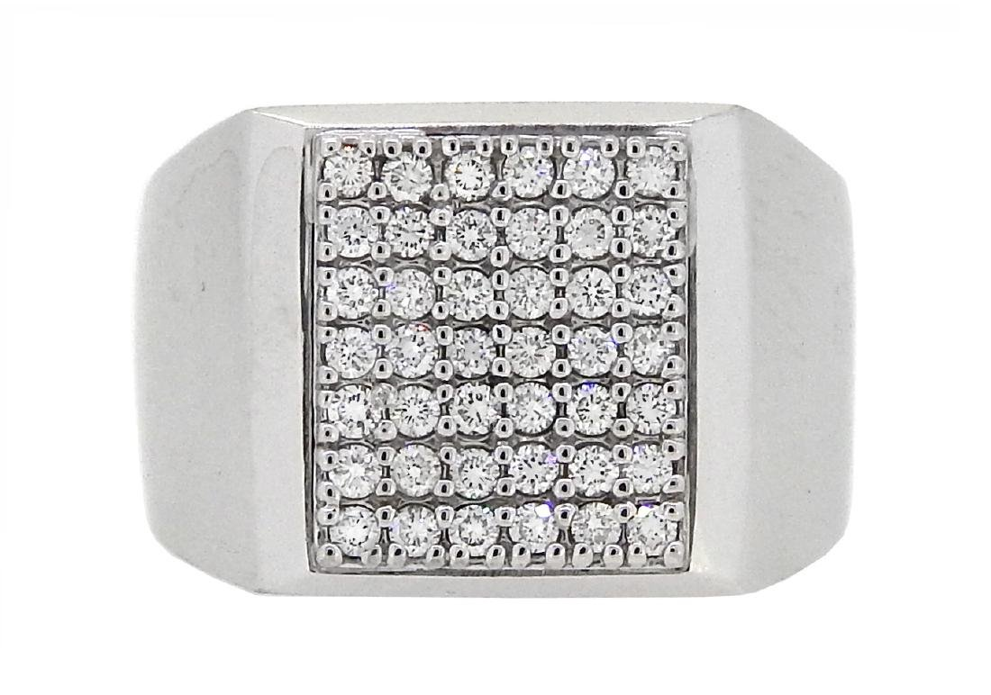 14KT White Gold 0.67ctw Diamond Ring
