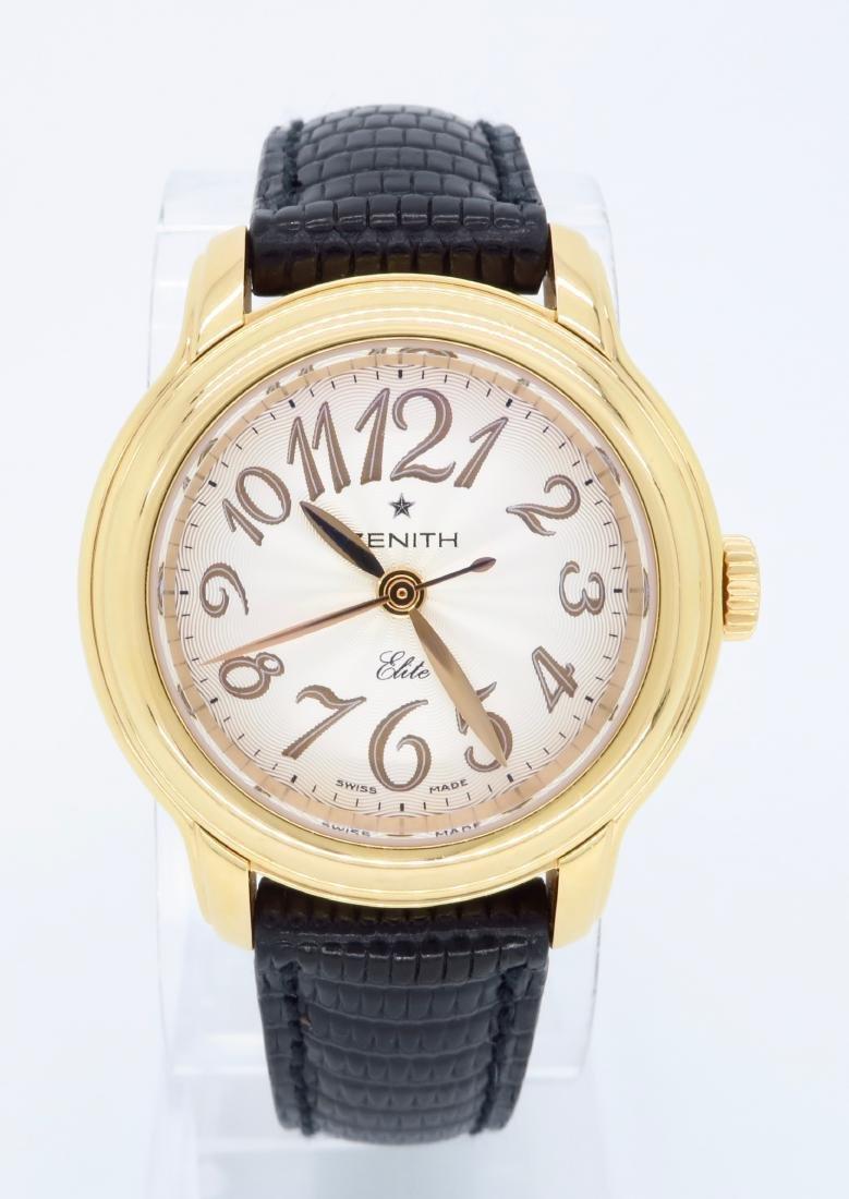 18KT Rose Gold Zenith Ladies Wristwatch