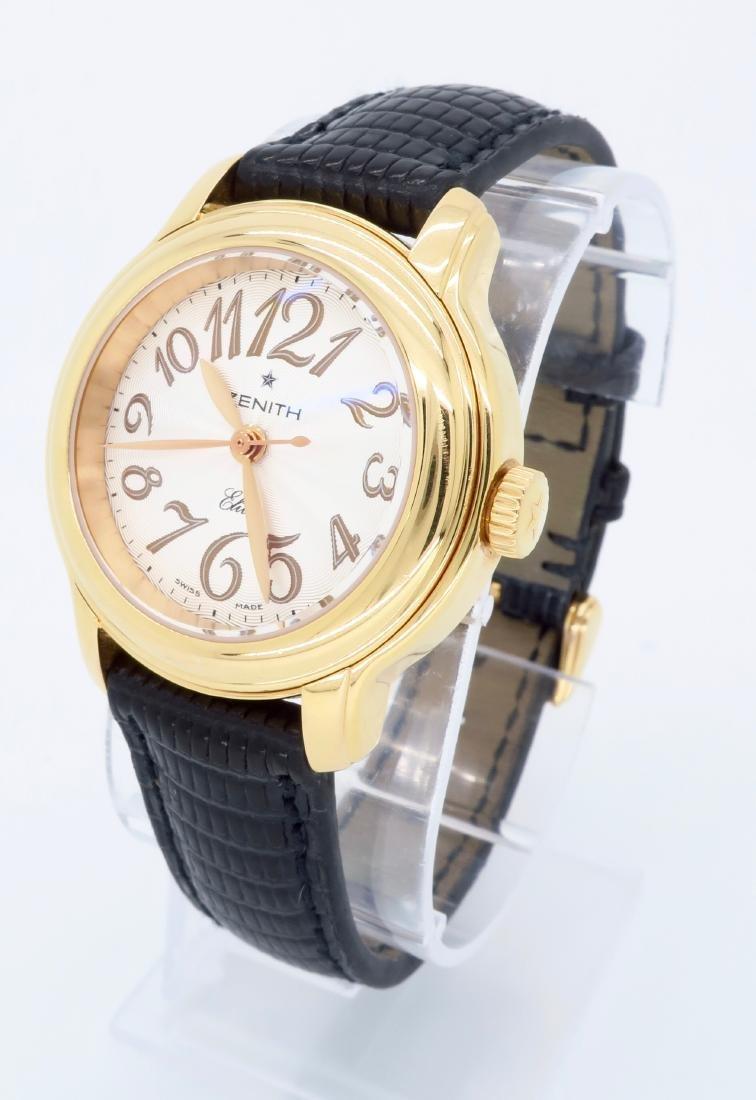 18KT Rose Gold Zenith Ladies Wristwatch - 2