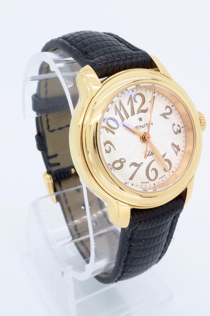18KT Rose Gold Zenith Ladies Wristwatch - 3