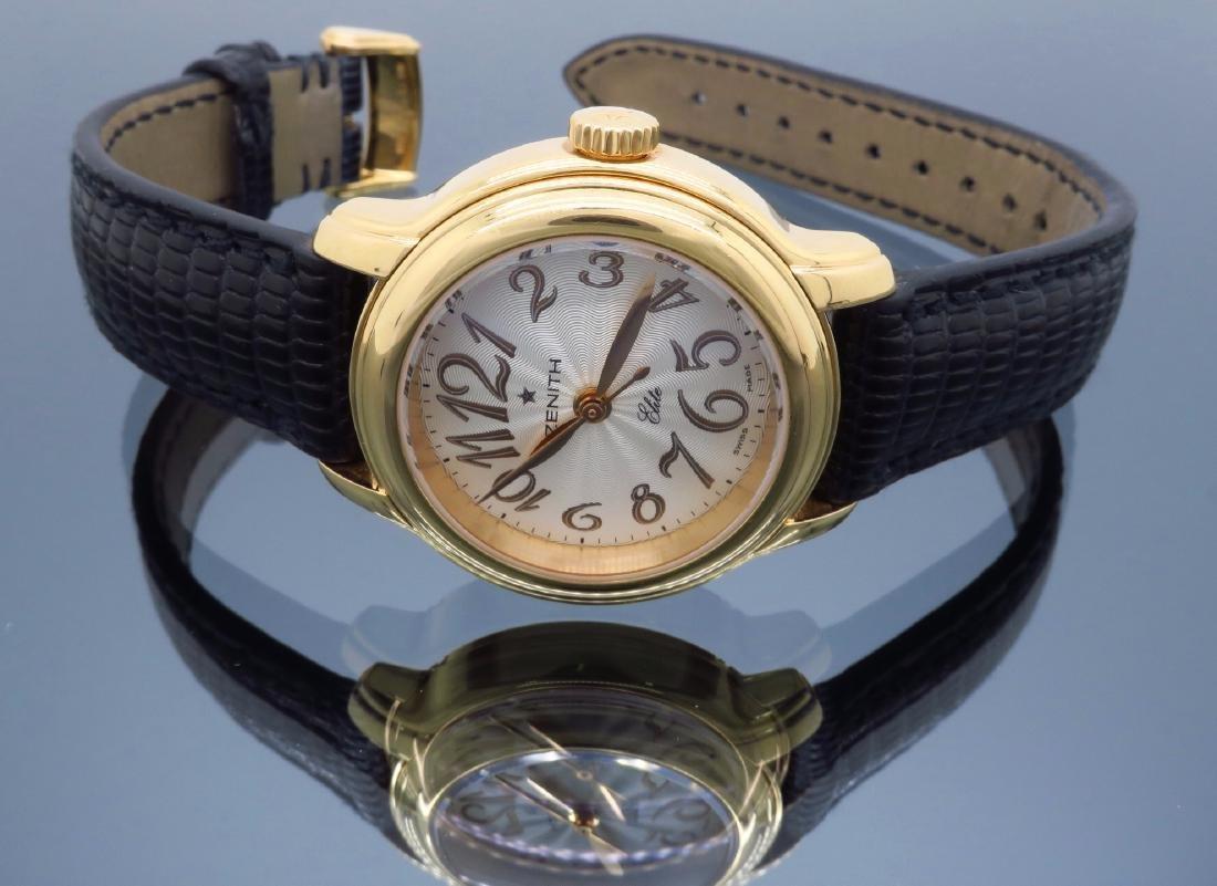 18KT Rose Gold Zenith Ladies Wristwatch - 5
