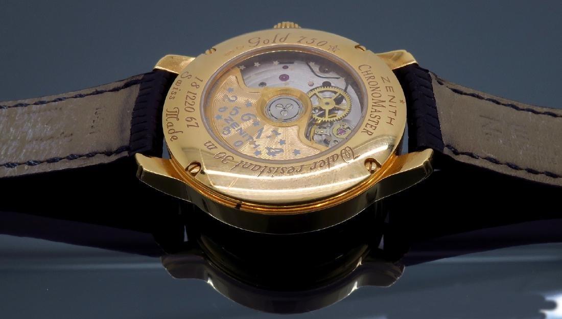 18KT Rose Gold Zenith Ladies Wristwatch - 6
