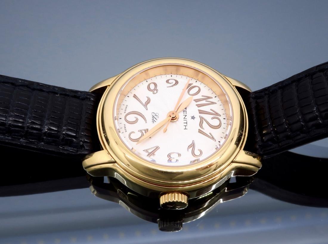 18KT Rose Gold Zenith Ladies Wristwatch - 7
