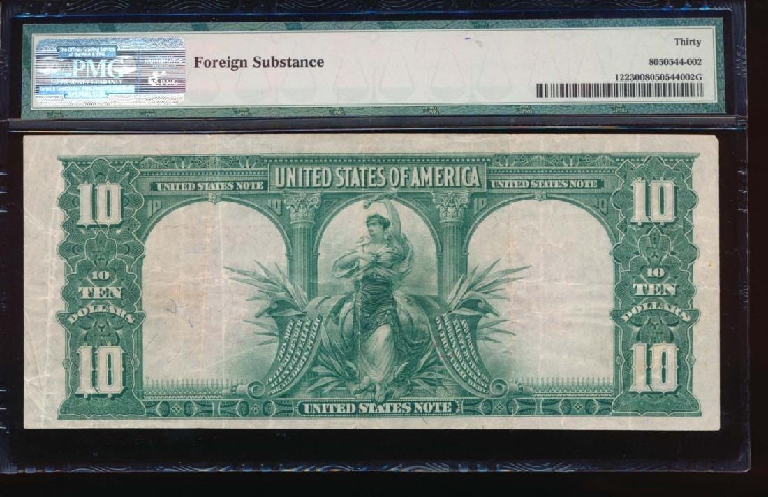 1901 $10 Bison Legal Tender Note PMG 30 - 2