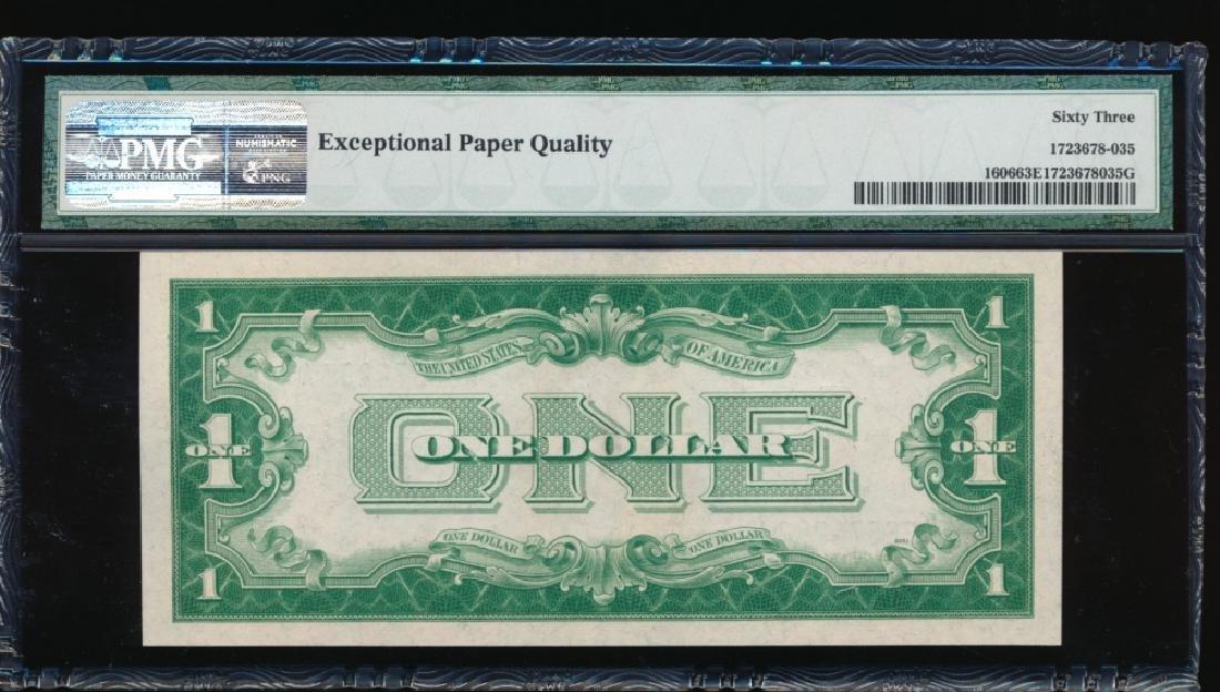 1934 $1 Silver Certificate PMG 63EPQ - 2