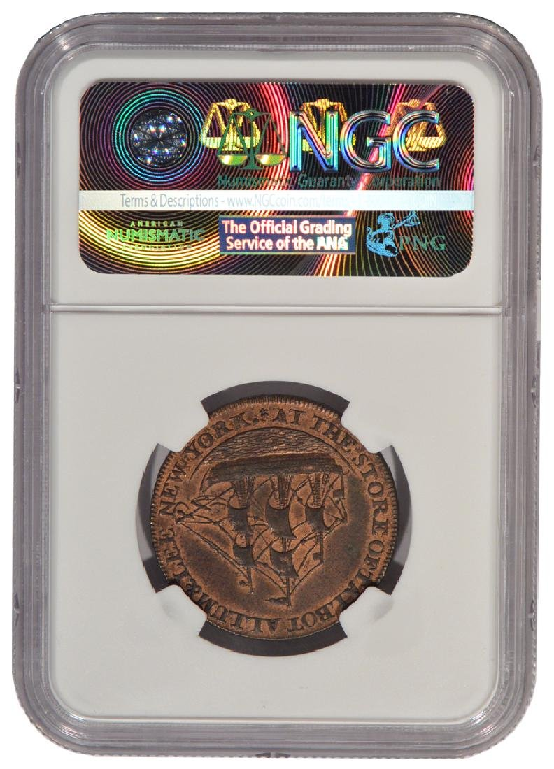 1795 Letter Edge Cent Coin NGC MS61BN - 2