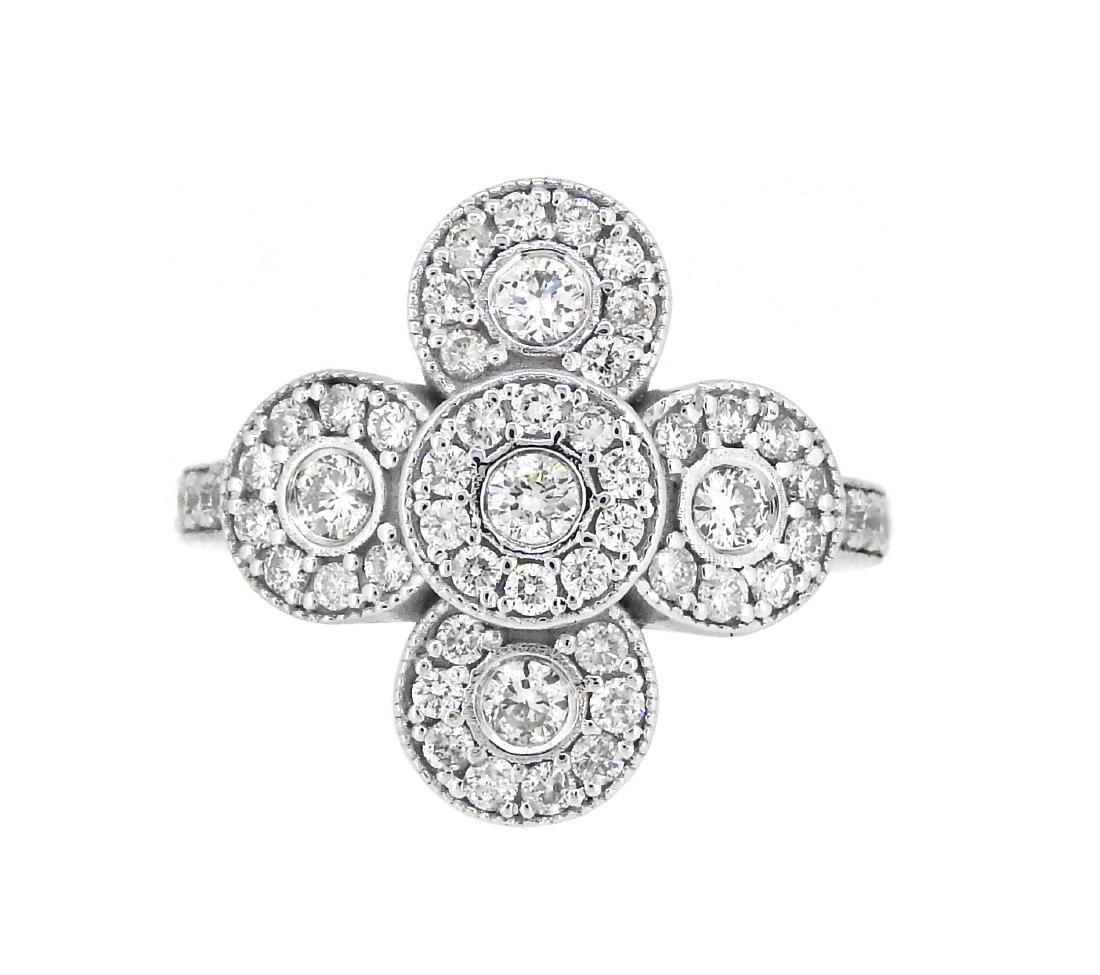 Platinum 1.25ctw Diamond Ring