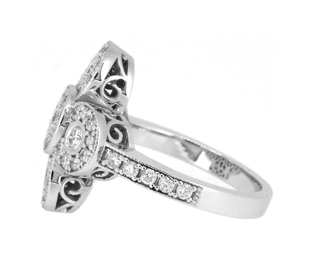 Platinum 1.25ctw Diamond Ring - 2