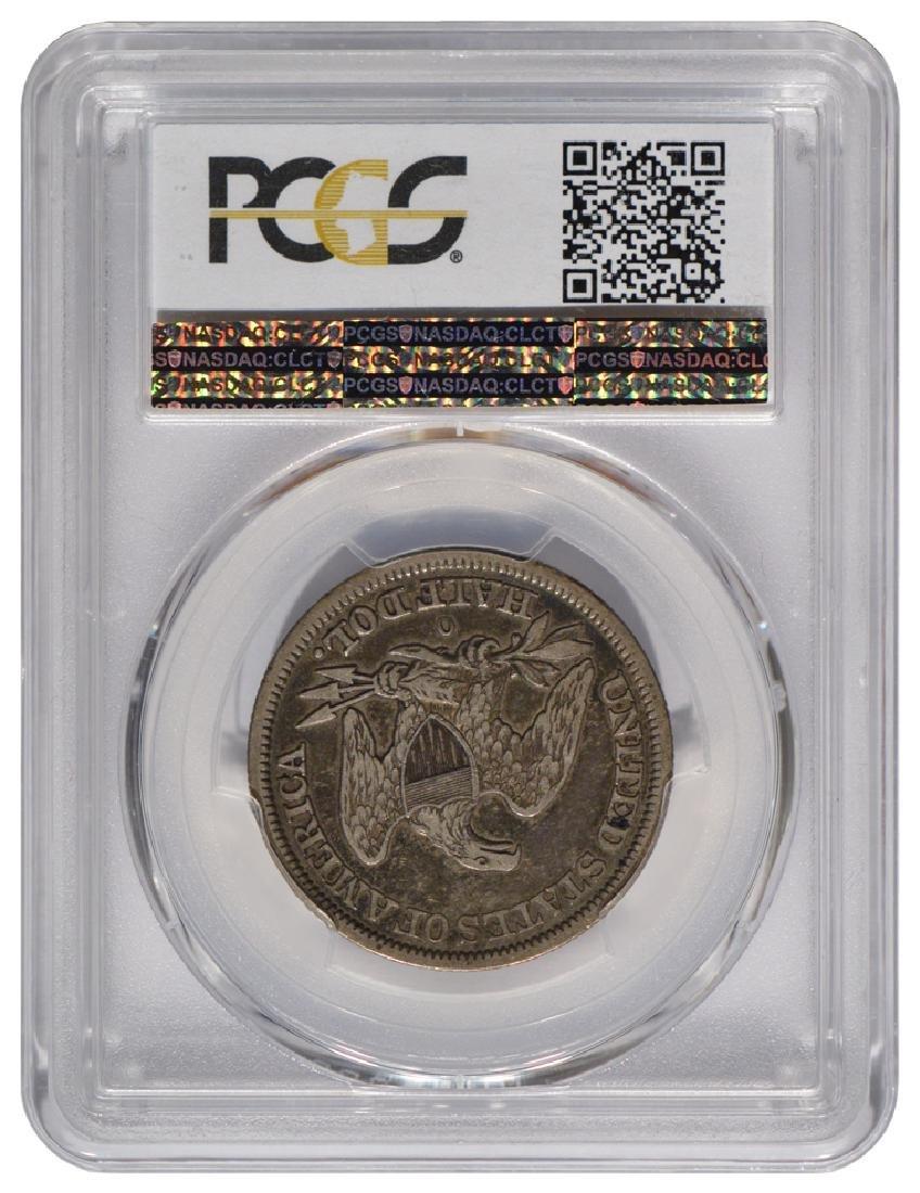 1845-O Seated Liberty Head Half Dollar Coin PCGS VF30 - 2