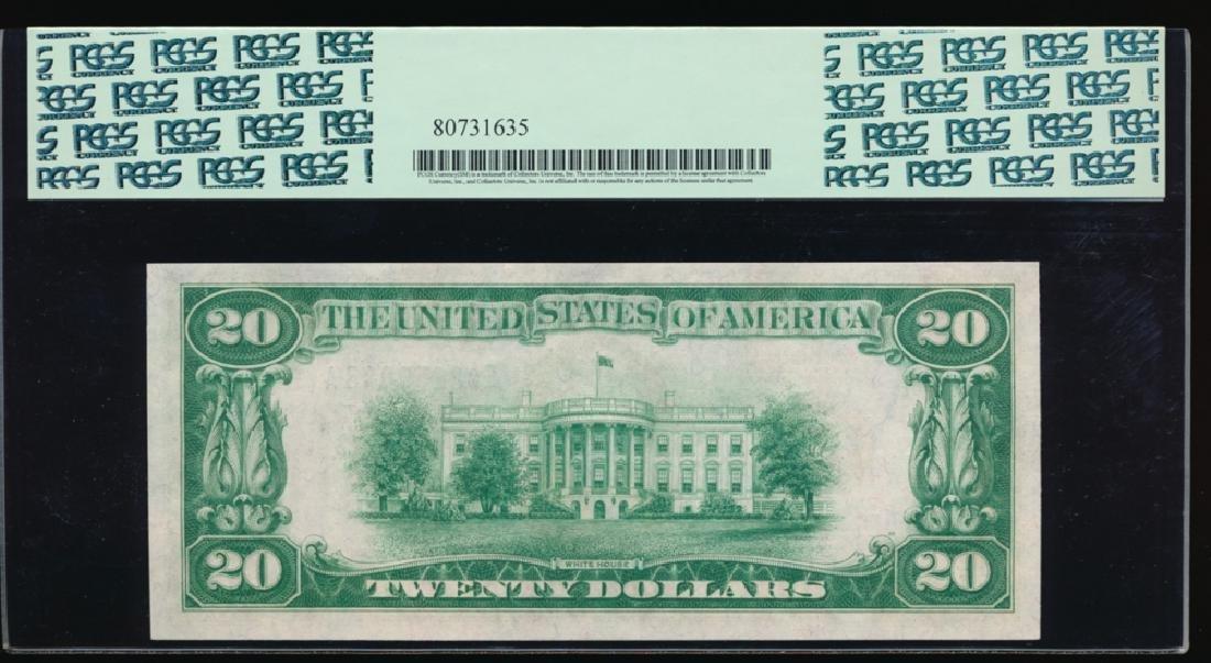 1928 $20 Richmond Federal Reserve Note PCGS 64PPQ - 2