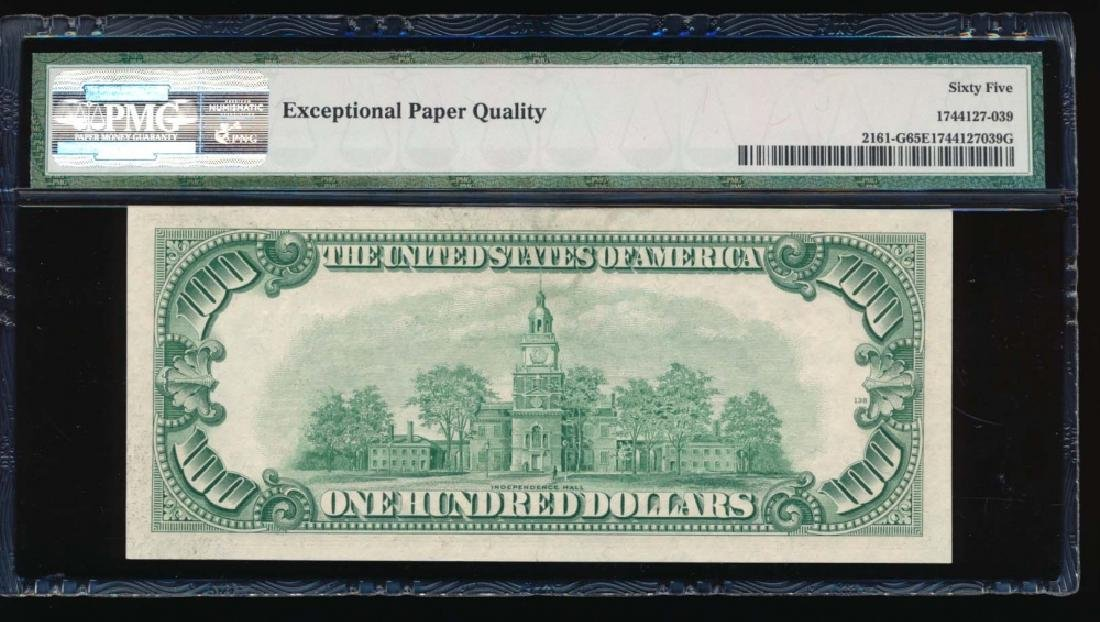 1950D $100 Chicago Federal Reserve Note PMG 65EPQ - 2