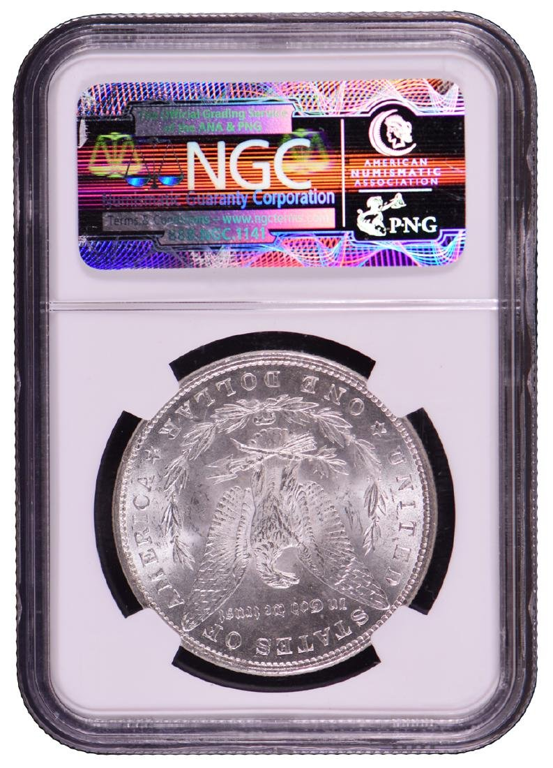 1882 $1 Morgan Silver Dollar Coin NGC MS65 - 2