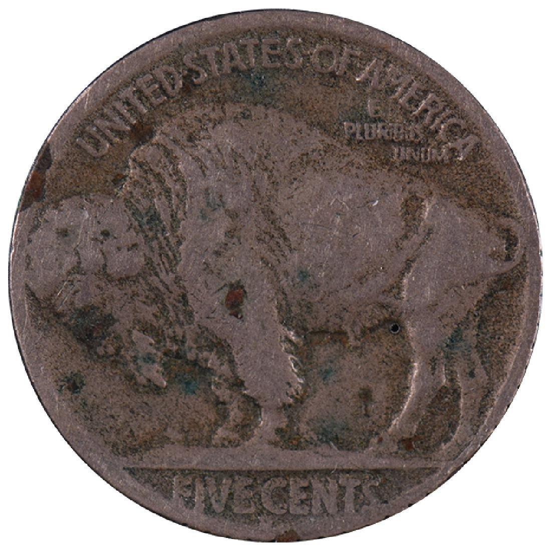 1919 Hobo Design Carved Buffalo Nickel - 2