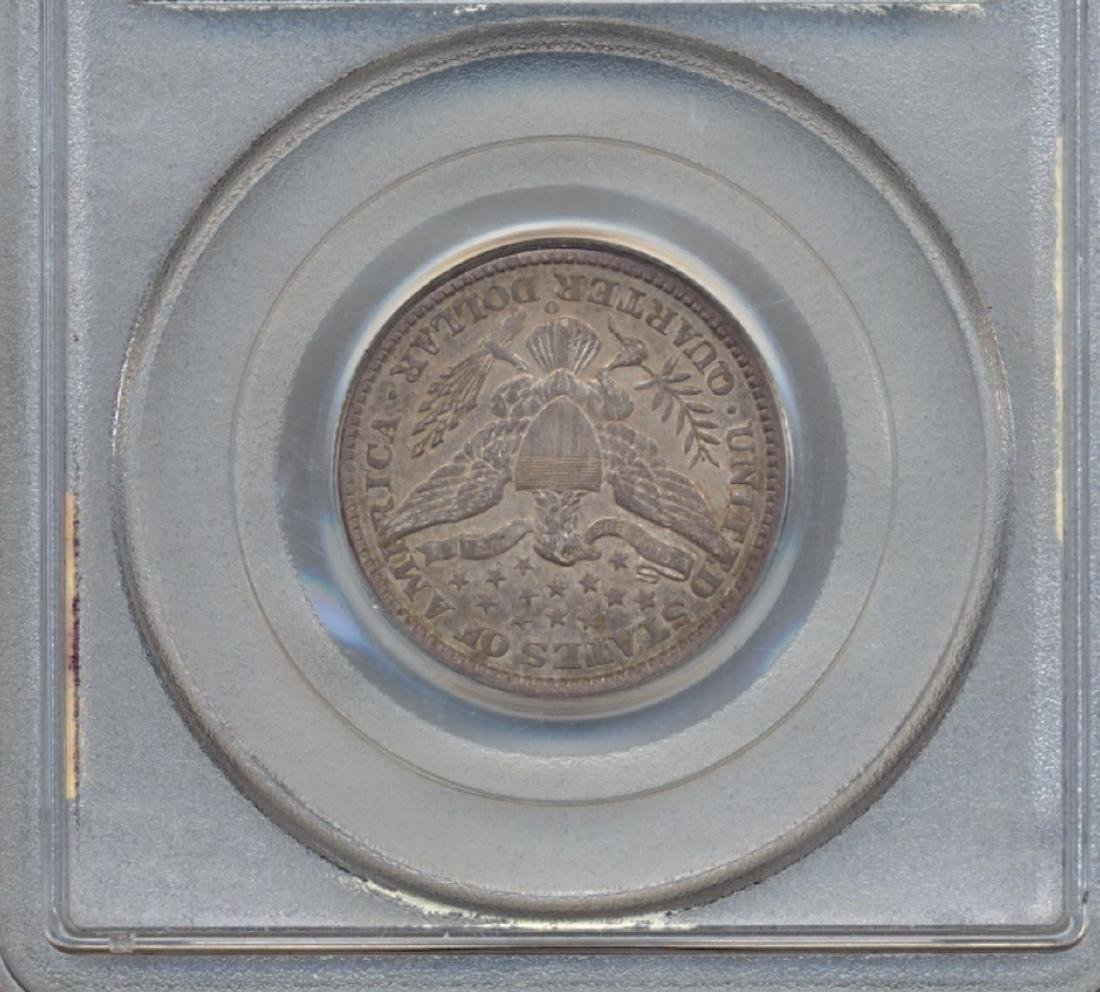 1897-O Barber Quarter Coin PCGS AU55 - 2