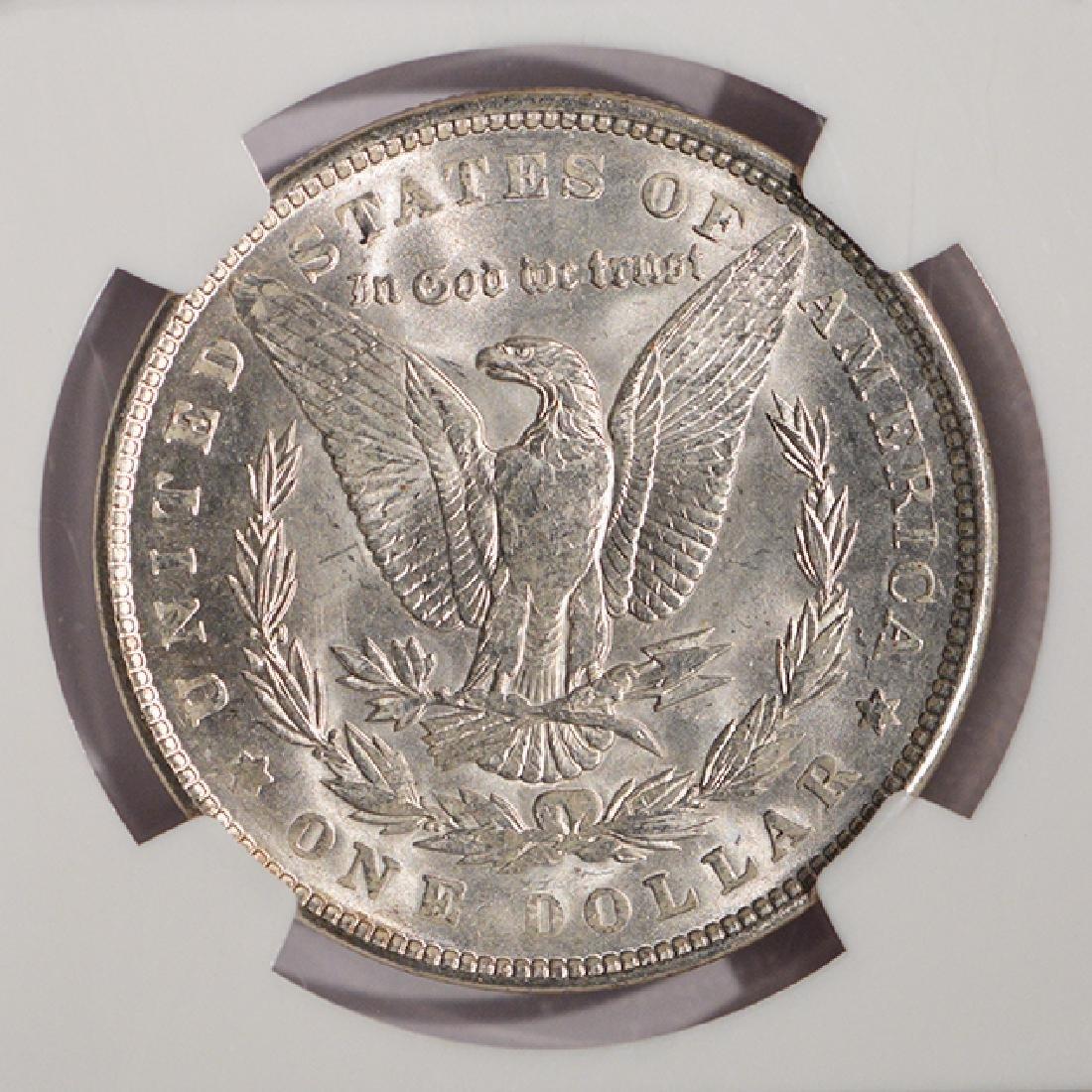1900 $1 Morgan Silver Dollar Coin NGC MS64 - 4