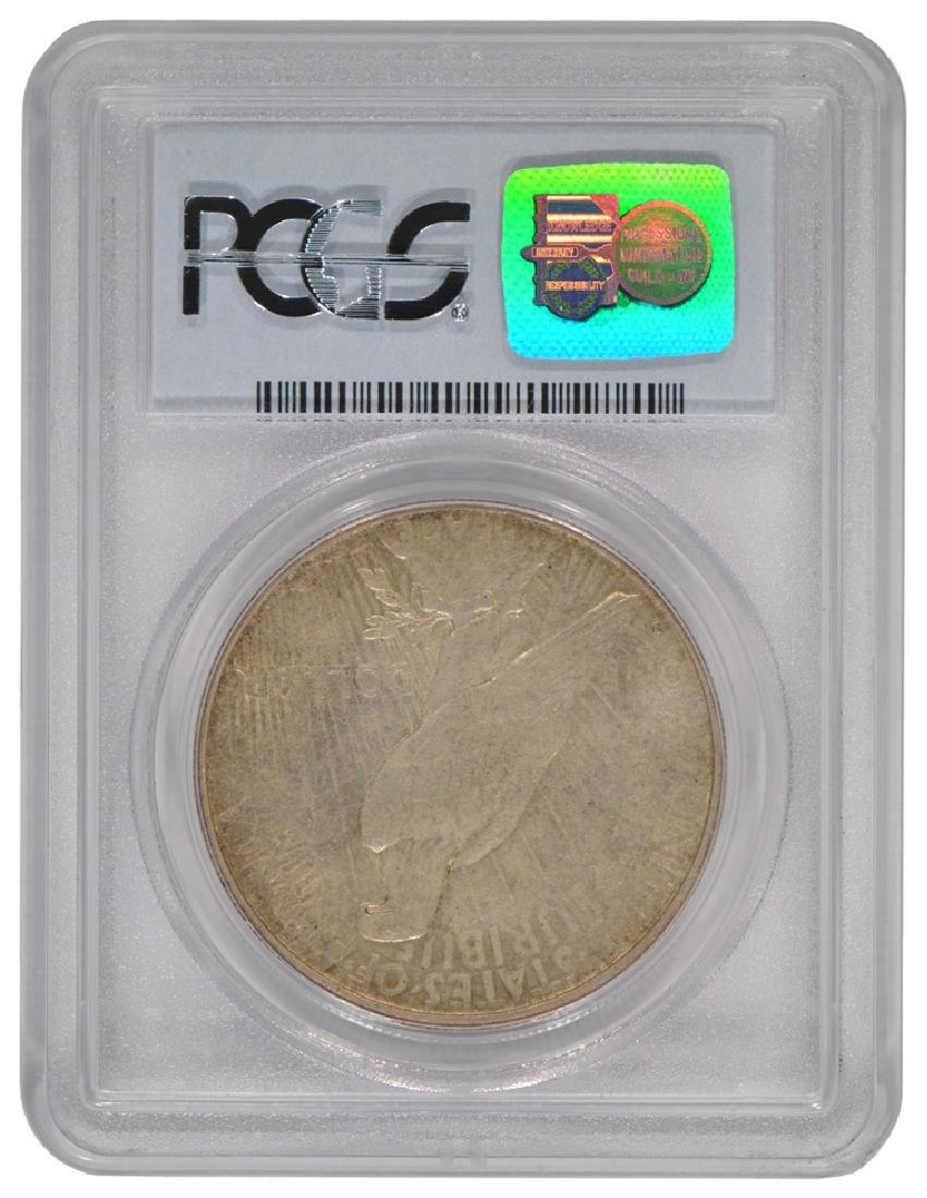 1934-S $1 Peace Silver Dollar Coin PCGS XF45 - 2