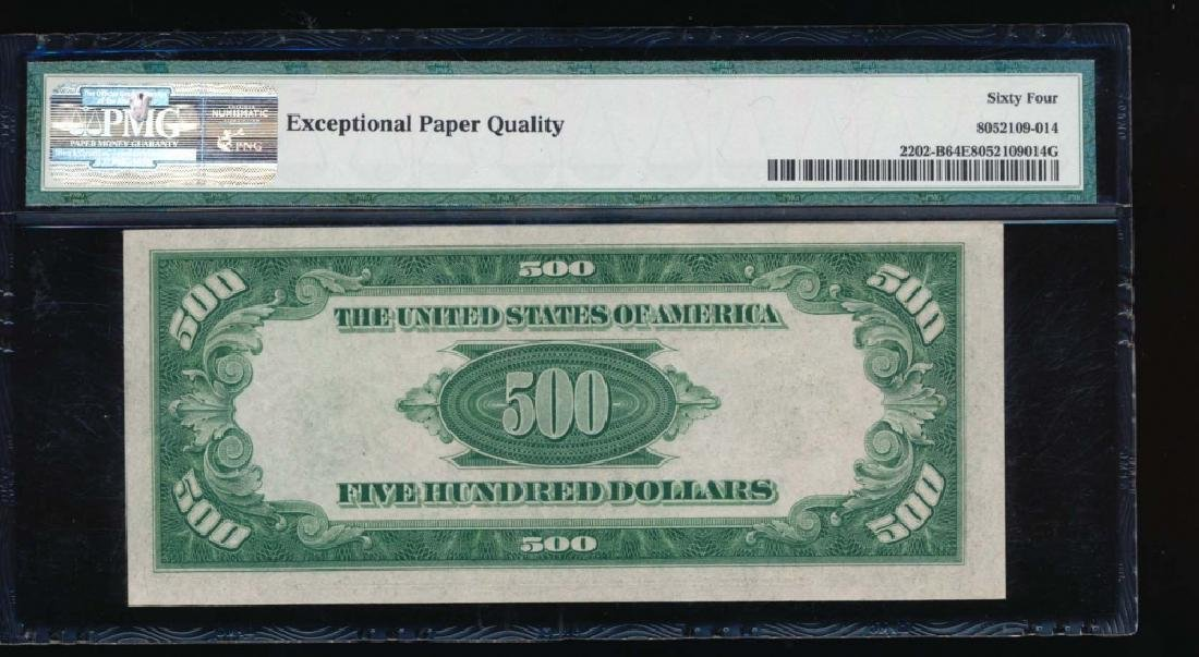 1934A $500 New York Federal Reserve Note PMG 64EPQ - 2
