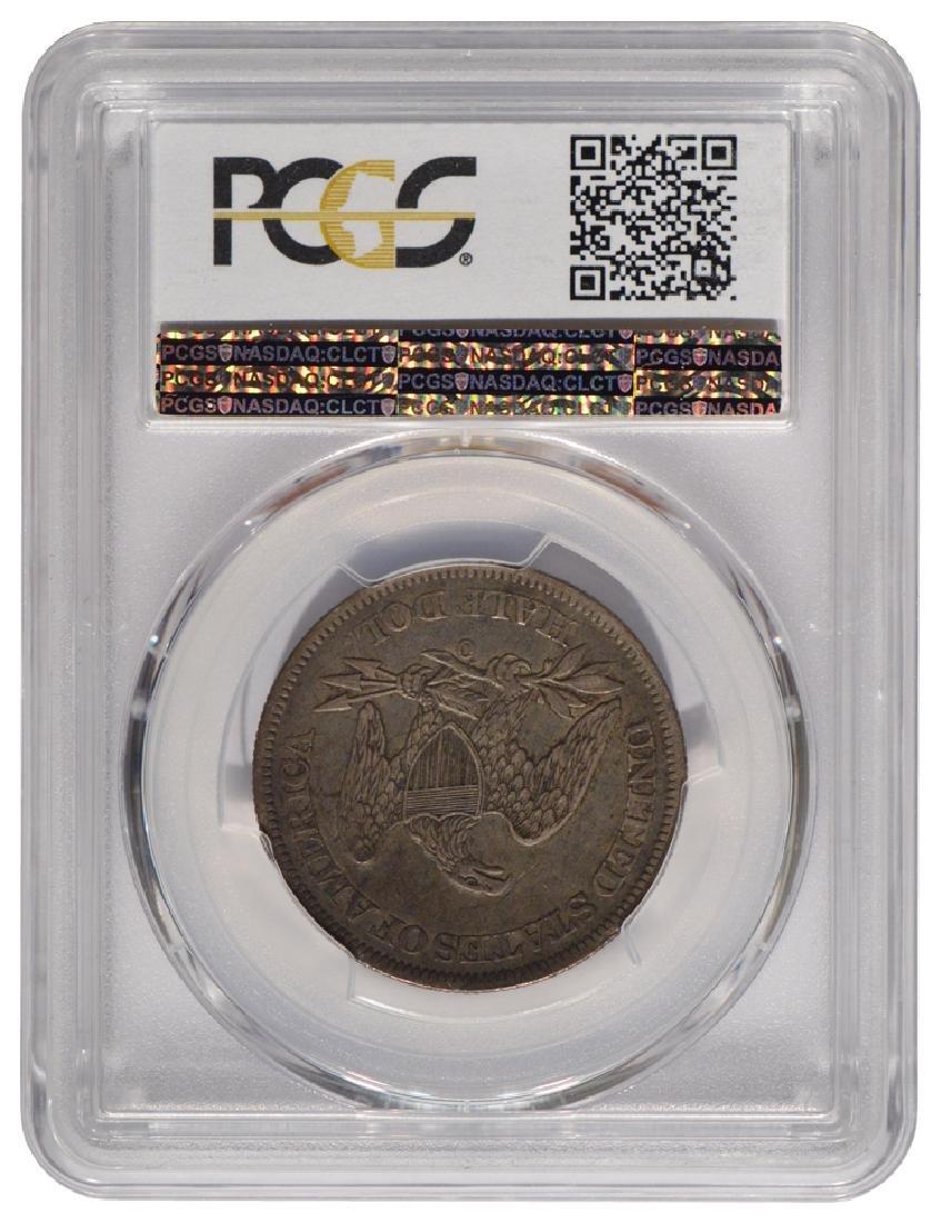 1861-O Seated Liberty Half Dollar PCGS XF40 - 2