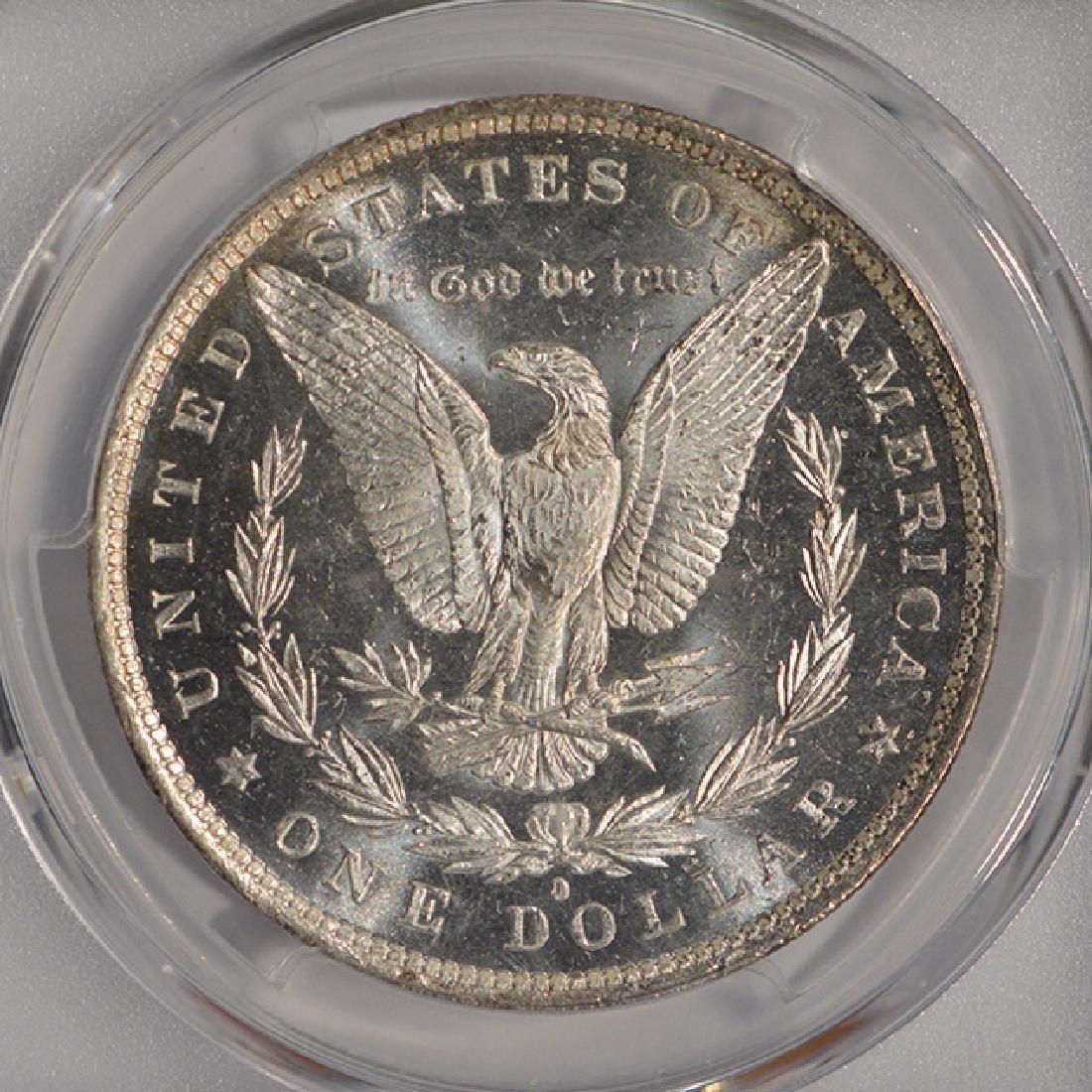 1882-O $1 Morgan Silver Dollar Coin PCGS MS63DMPL - 4