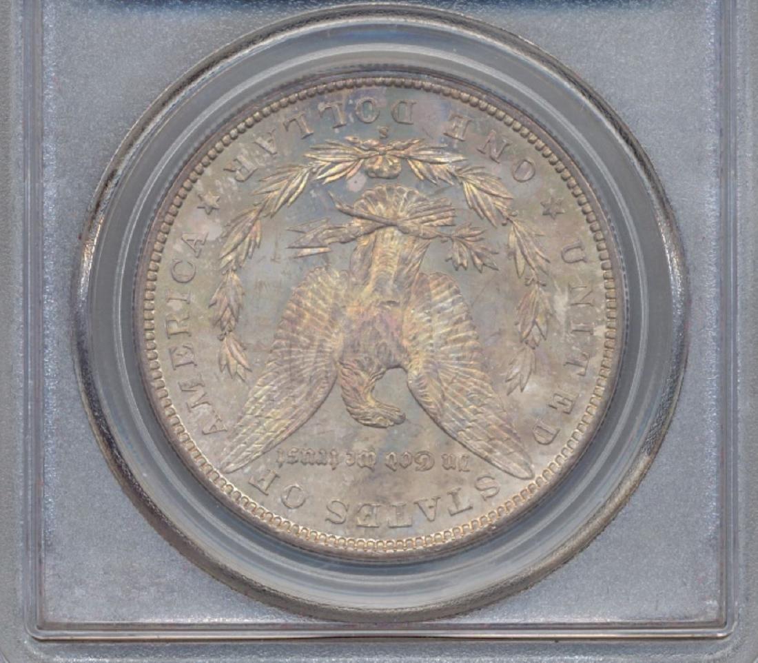 1880-S $1 Morgan Silver Dollar Coin PCGS MS64 - 2