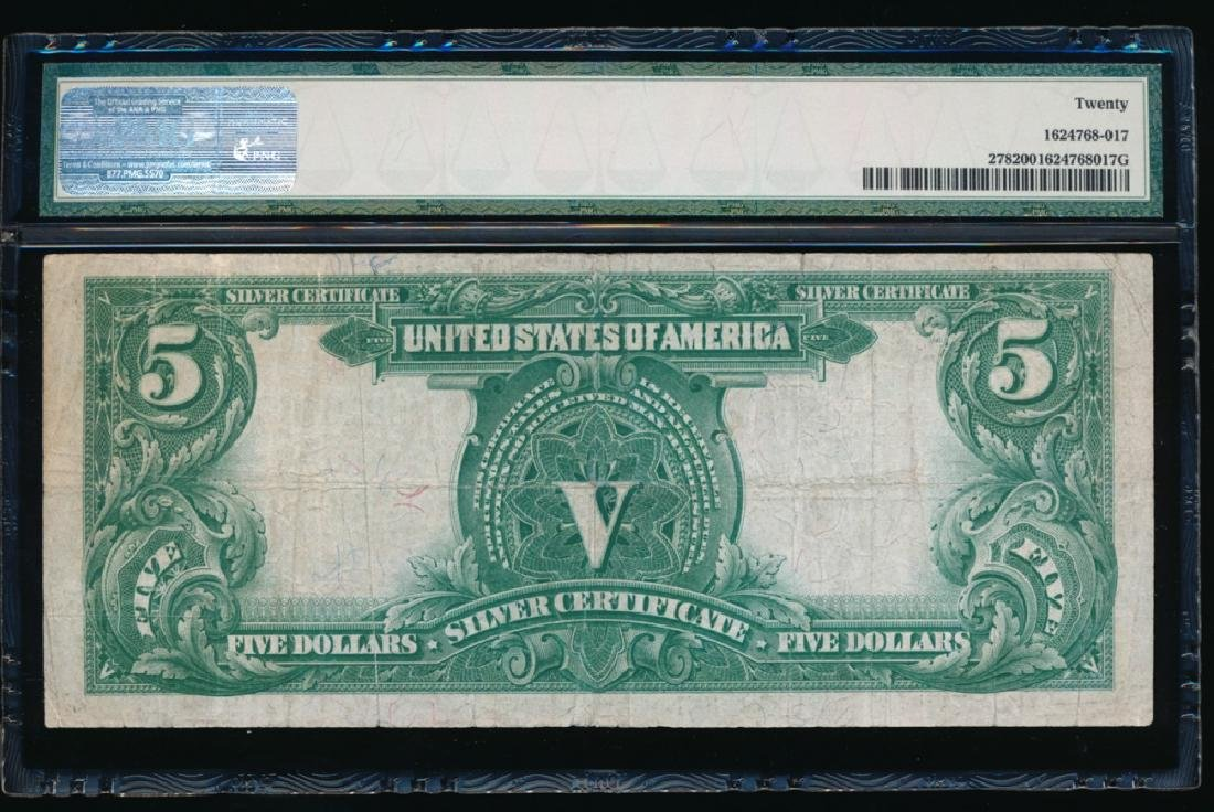 1899 $5 Chief Silver Certificate PMG 20 - 2