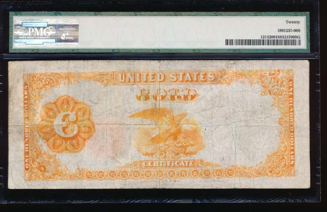 1922 $100 Gold Certificate PMG 20 - 2