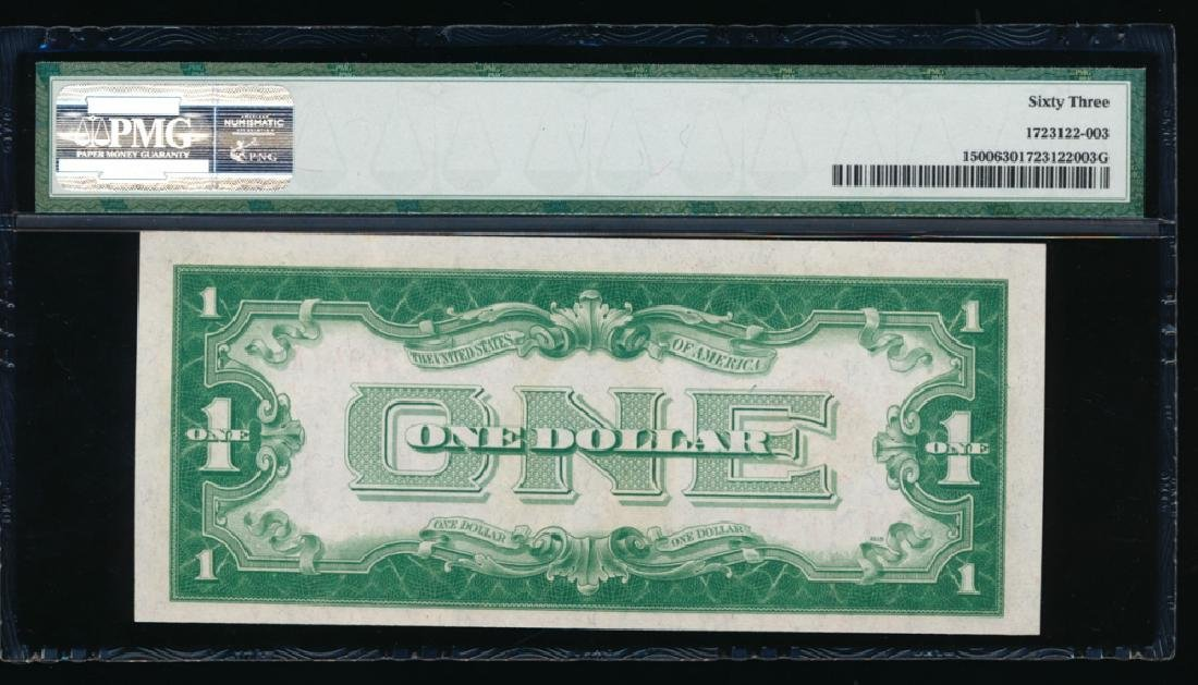 1928 $1 Legal Tender Note PMG 63 - 2