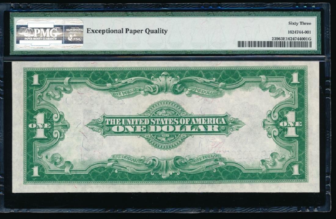 1923 $1 Silver Certificate PMG 63EPQ - 2